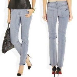 NWOT Theyskens Theory Playne Mid Rise skinny jeans